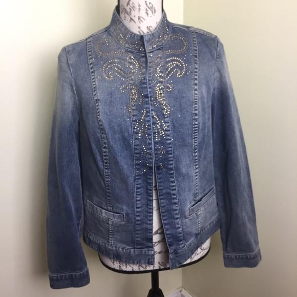 Chico's Jackets & Blazers - Chico's Women's size 0 4 Small Jean Jacket
